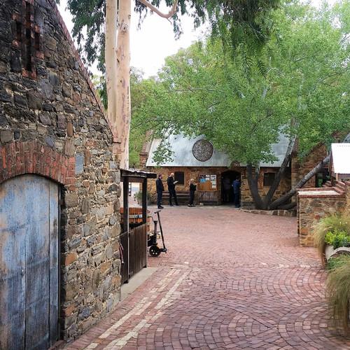 Rockford Wines Courtyard