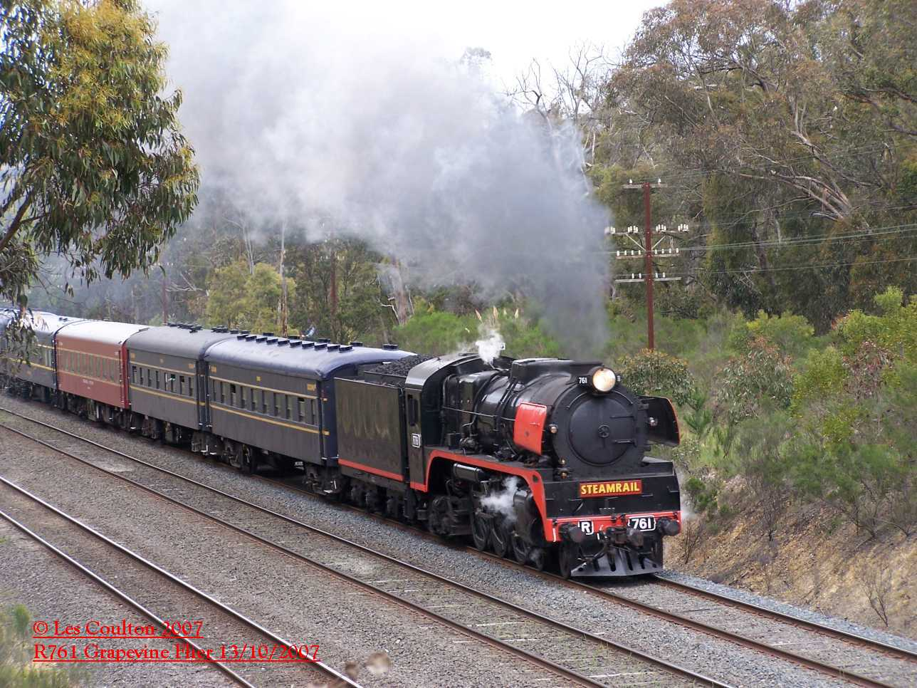 Rail Tours In Australia