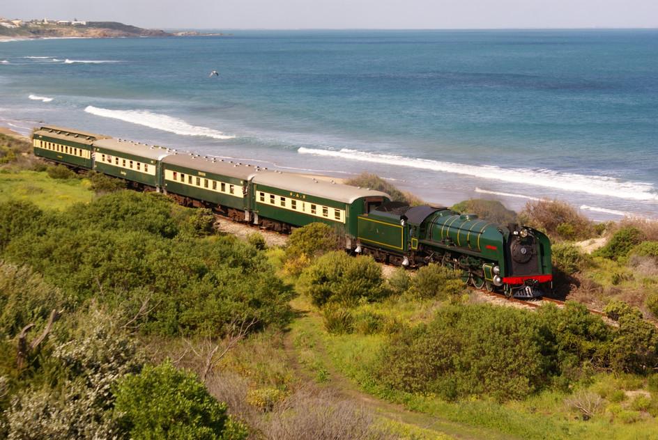 All Aboard the South Coast Wine Train