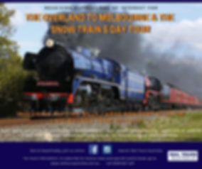 2019 Rail Tours Australia  SNOW TRAIN OV