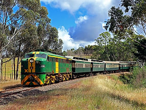 The Wine Train in the Adelaide Hills