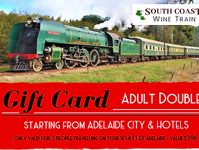 South Coast Wine Train 2019 GIFT CARD EX