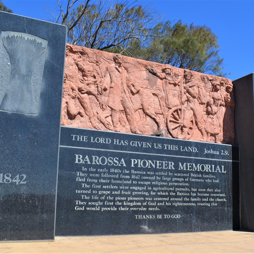 Barossa Pioneer Memorial