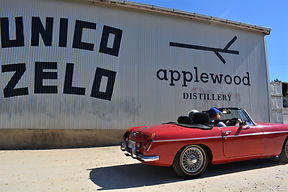 Unico Zelo and Applewood Distillery