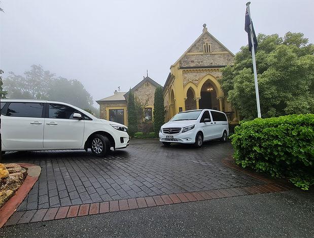 Tour Vehicle at Mount Lofty House