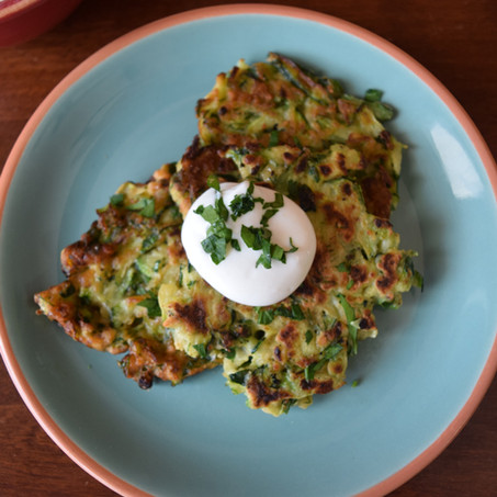 Middle-Eastern Zucchini Fritters