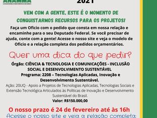 ÓRGÃO:  Ciência & Tecnologia e Comunicações - Inclusão Social e Desenvolvimento Sustentável