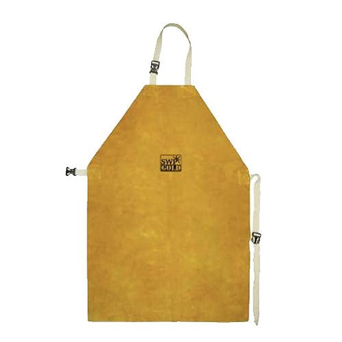 SWP Premium Gold Leather Welders Apron