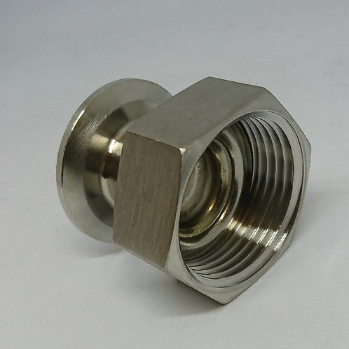 Tri-Clamp to RJT Female Adapter