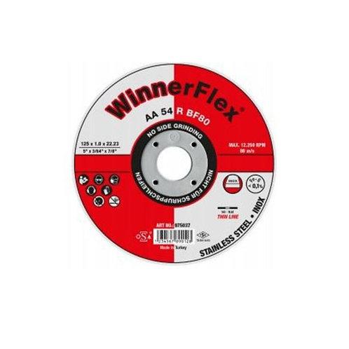 Winnerflex Flat Super Thin Cutting Discs 115x22x1mm  Pack of 25