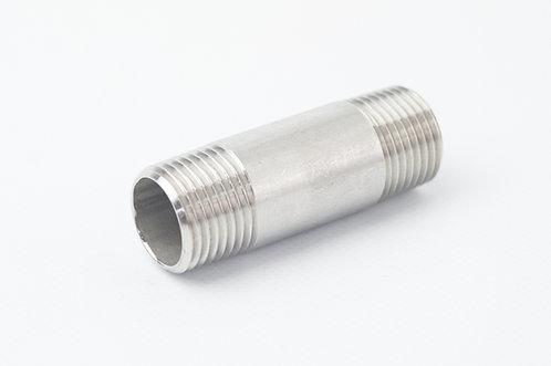 BSP Stainless Steel Barrel Nipple