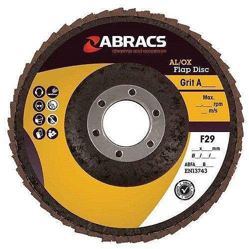 Abracs Aluminium Oxide Flap Disc 115mm x 22mm