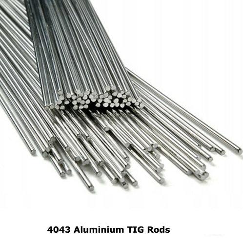 Aluminium 4043A TIG Wire 2.5kilo Tube