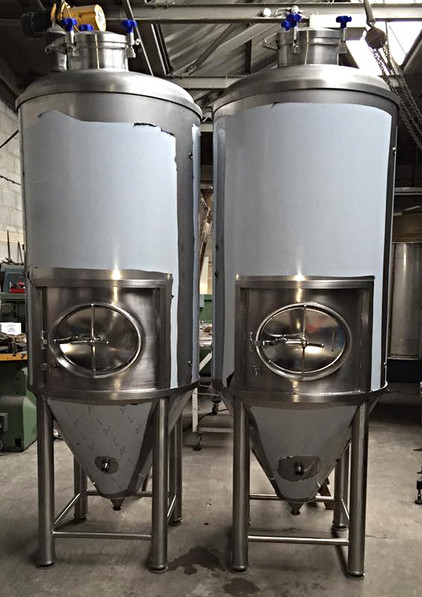 Uni Tanks for Bobcat Brewery
