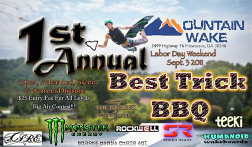 1ST ANNUAL MOUNTAIN WAKE BEST TRICK