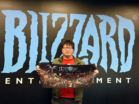 台灣玩家的概念設計被暴風雪(Blizzard)實體化