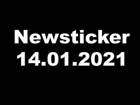 NEWSTICKER 14.01.2021