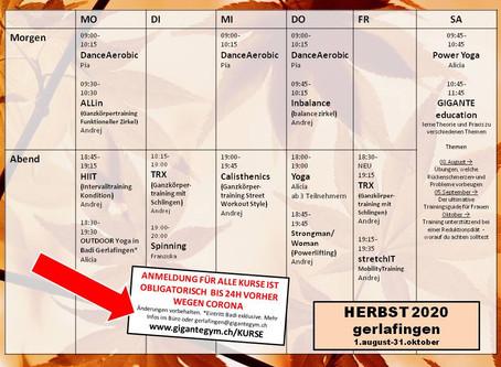 neuer GroupFit plan Gerlafingen per 01.08