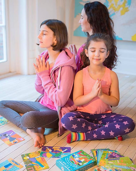 Enchanted Wonders A-Z cards Kids Yoga
