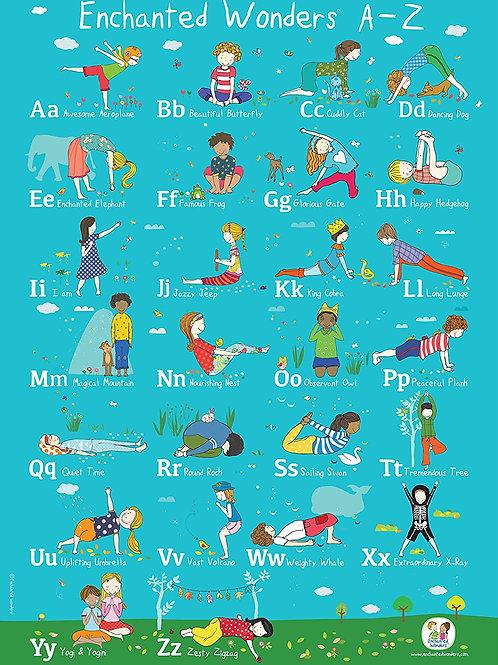 Enchanted Wonders ABC Poster