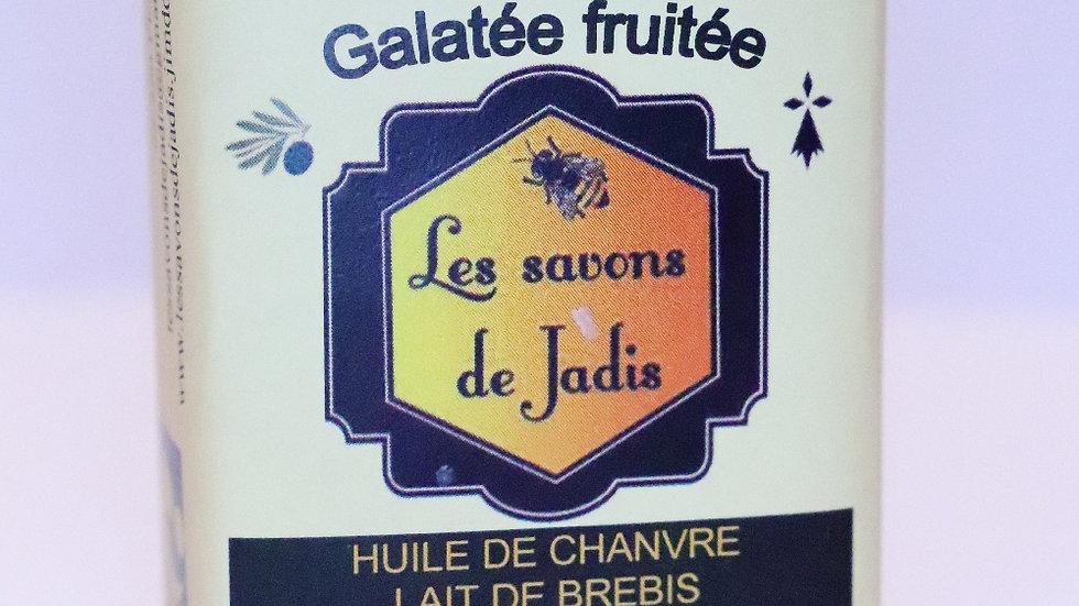 GALATEE FRUITE SAVON ARTISANAL Nature et progrès Les savons de JadisL