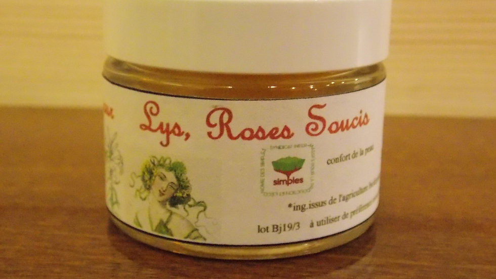 BAUME ROSE, LYS, SOUCI bio