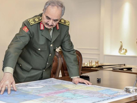Haftar's Military Activities Prior to Berlin Conference on Libya