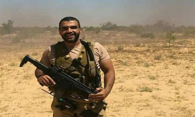 Egyptian Military fighter Ahmed Mansy in Sinai