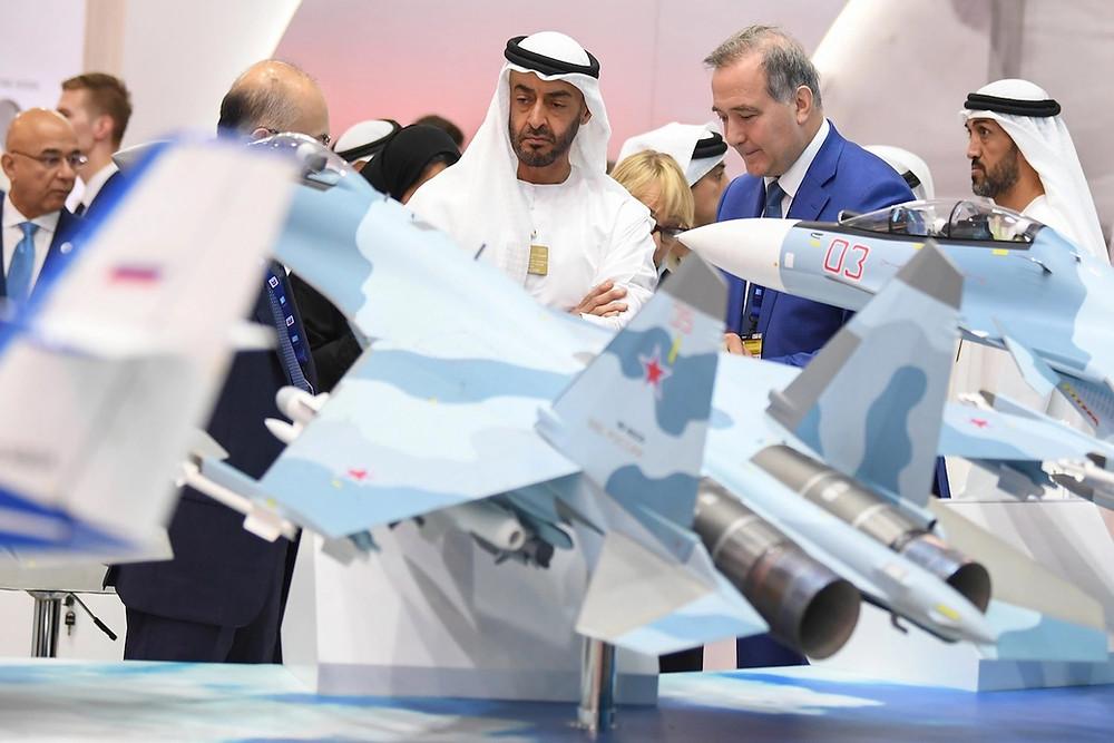 سمو الشيخ محمد بن زايد ولي عهد أبو ظبي ونائب القائد الأعلى للقوات المسلحة الإمارات
