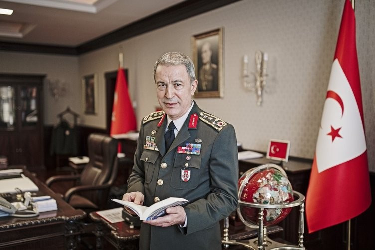Turkey Minister of Defense Hulusi Akar