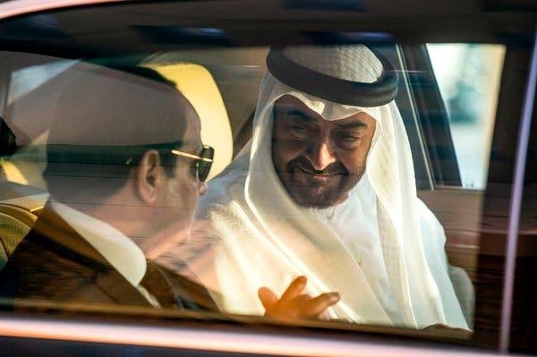 Egypt President El-Sisi and UAE Sheikh Mohammed bin Zayed
