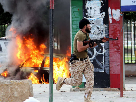 The Smell of War is All Over Libya