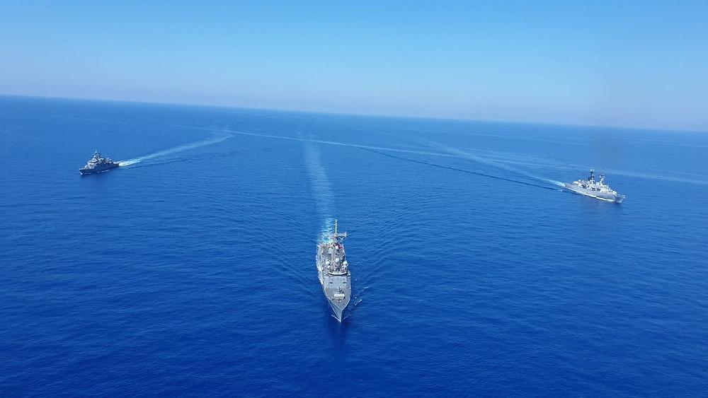 صراع البحر المتوسط بين تركيا واليونان