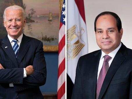فوز بايدن برئاسة أمريكا وتأثير ذلك على العلاقات الأمريكية مع مصر