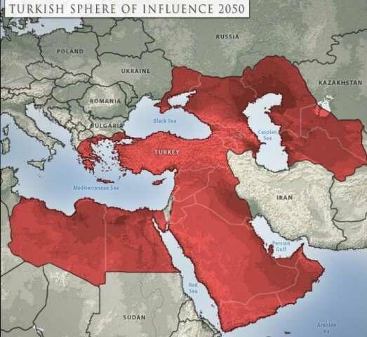 الخيال مقابل الواقع: تقييم خريطة ستراتفور حول تمدد النفوذ التركي في ٢٠٥٠
