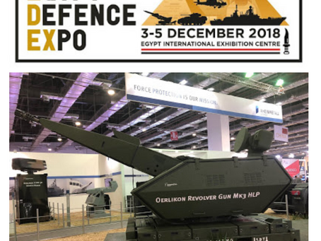 Countries Showing off Military Power in Egypt - My experience with EDEX