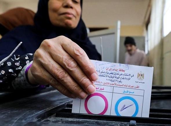 تقرير متابعة الاستفتاء على تعديلات الدستور مصر 2019