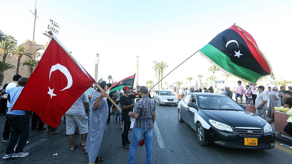 مستقبل الوجود التركي في ليبيا بعد رحيل حكومة الوفاق