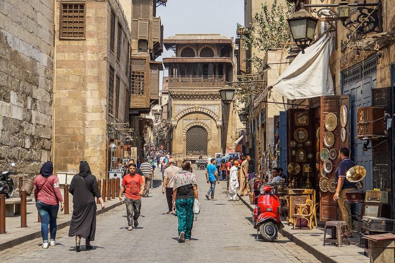 شارع في القاهرة مصر القديمة