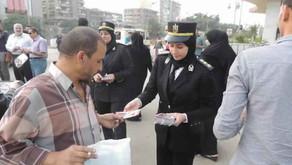 وزارة الداخلية تبذل جهداً ضخماً لإعلاء قيم حقوق الإنسان في السجون وفي الشارع - بيان صحفي رداً على إد