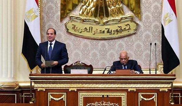 President El Sisi in Parliament