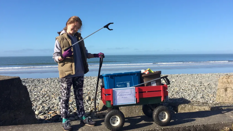 How a 10-year-old from Wales scored a big win in the war on plastic waste