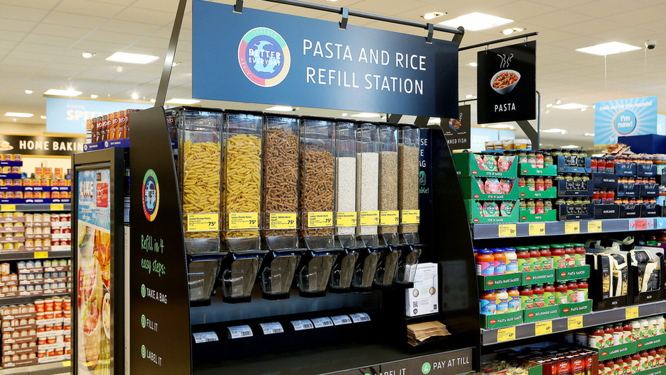 Aldi launch trial of packaging-free products