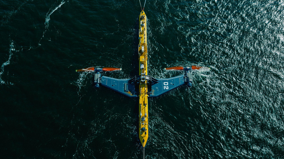 World's Most Powerful Tidal Turbine O2 Launches