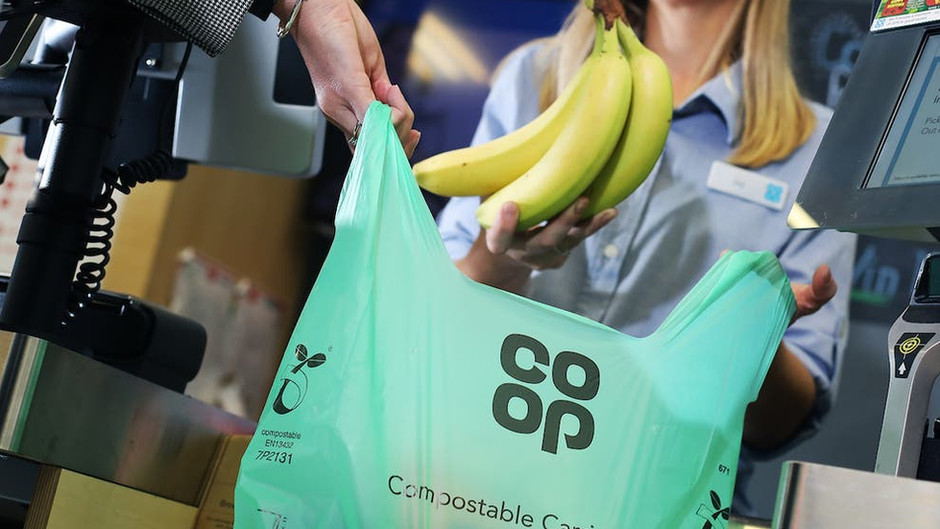 Co-op to remove plastic 'bags for life' as they become the new single-use carrier bag