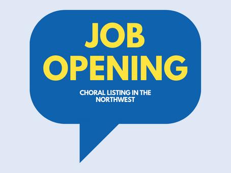 Job Listing - Artistic Director; Casper Children's Chorale