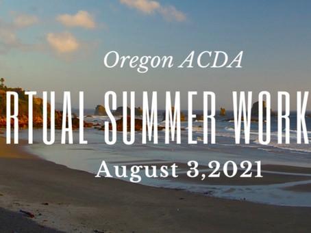 ORACDA Summer Workshop