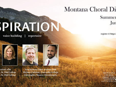 Montana Choral Directors Summer Institute