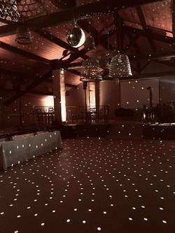 Salle soirée au Mas d'Arvieux
