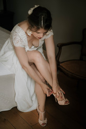 Jolie mariée au Mas d'Arvieux
